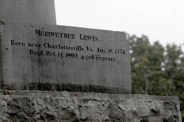 First National Memorial Service for Meriwether Lewis of the Lewis and Clark Expedition Photo by Anthony Scarlati