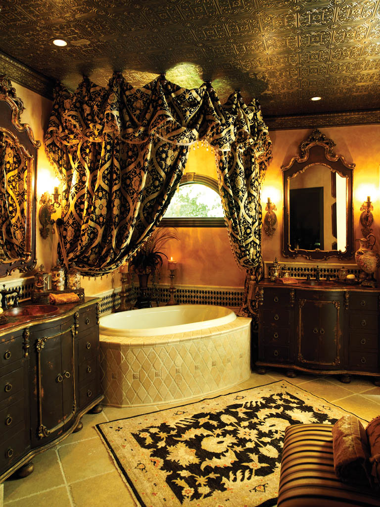 Robbie calvo old world artisan for Gothic bathroom ideas