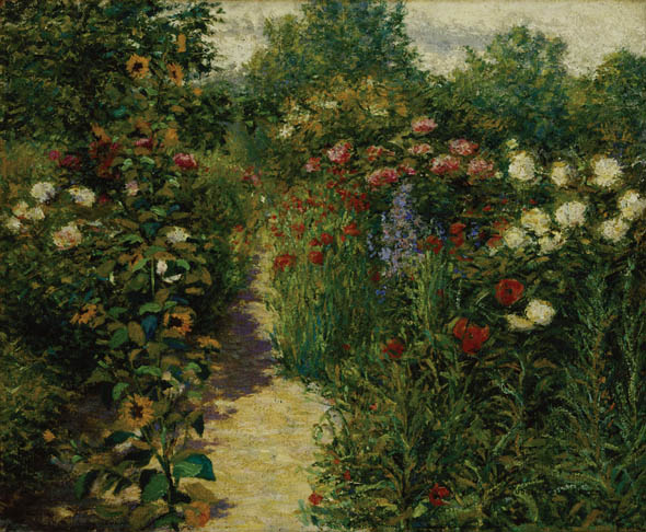 Breck, Garden in Giverny