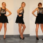 Front, Side, and Back view of black and silver dress[2]