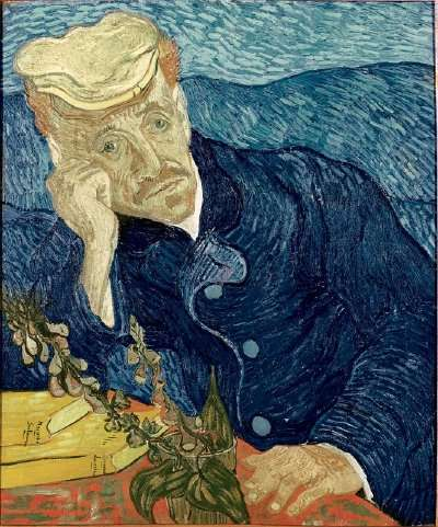Vincent Van Gogh's Portrait of Dr. Gachet (1890)
