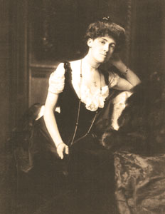 Edith Wharton at The Mount 1902
