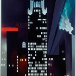 Georgia O'Keeffe, Radiator Building-Night, New York, 1927, Oil on canvas