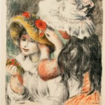 Pierre-Auguste Renoir, Le Chapeau Épingle (The Hat Pin), 1898, Color lithograph on paper