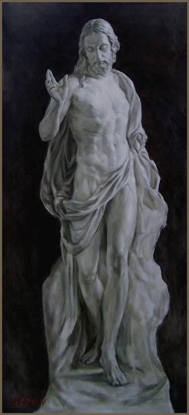 """Vita, Oil on canvas, 46"""" x 21"""""""