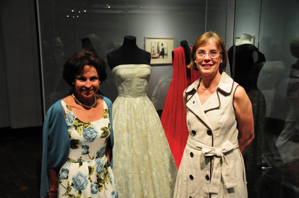 Frist, opening night at the Couture exhibit