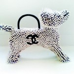Bitch  Bag(White Chanel Poodle)