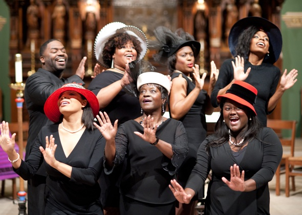 Black Women in Church Hats http://nashvillearts.com/2012/01/04/theatre-the-crowning-glory/