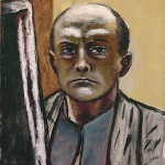 Max Beckmann. Self-Portrait in Olive and Brown, 1945. Oil on canvas, 23 3/4 x 19 5/8 in. Gift of Robert H. Tannahill, Detroit Institute of Arts, 55.410. © 2012 Artists Rights Society (ARS), New York / VG Bild-Kunst, Bonn