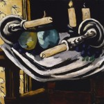 Max Beckmann. Still Life with Fallen Candles, 1929. Oil on canvas, 22 x 24 3/4 in. City of Detroit Purchase, Detroit Institute of Arts, 29.322. © 2012 Artists Rights Society (ARS), New York / VG Bild- Kunst, Bonn