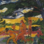 Max Pechstein. Under the Trees, 1911. Oil on canvas, 29 x 39 in. City of Detroit Purchase, Detroit Institute of Arts, 21.206. © 2012 Artists Rights Society (ARS), New York / Pechstein Hamburg / Toekendorf / VG Bild-Kunst, Bonn