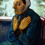 Paula Modersohn-Becker. Old Peasant Woman, ca. 1905. Oil on canvas, 29 3/4 x 22 3/4 in. Gift of Robert H. Tannahill, Detroit Institute of Arts, 58.385