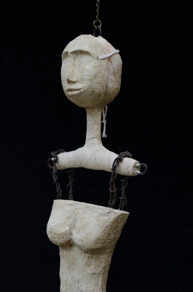 Emily allison the alchemy of found objects for Paper mache objects