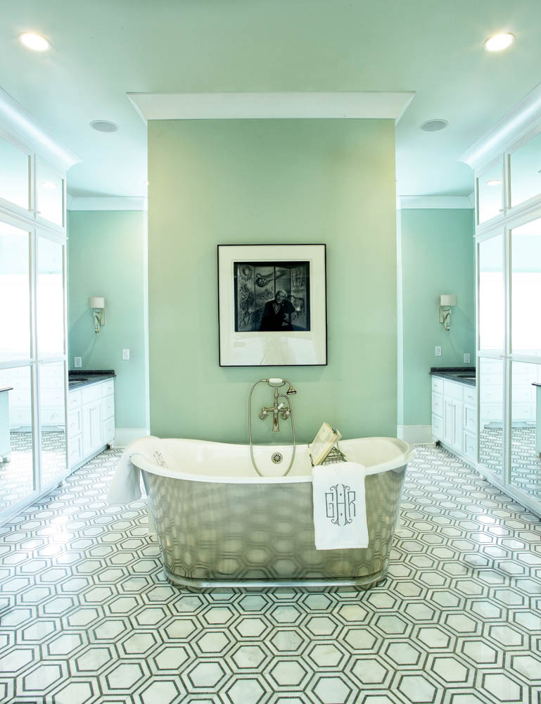 O 39 more show house nashville arts magazine for Bathroom designs 1940s