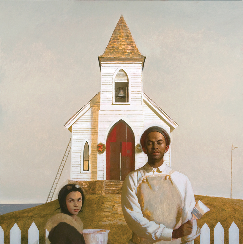 "A Glory of Painting, 2009, Oil on linen, 60"" x 60"""