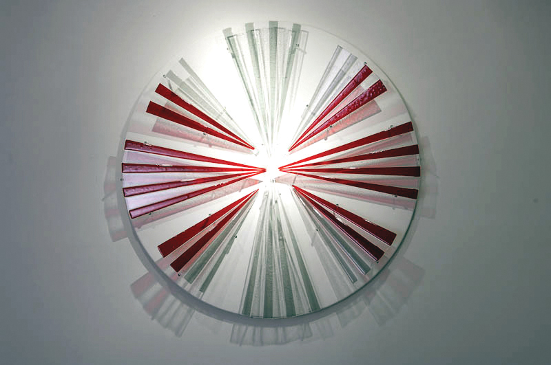 Refraction, 2009, Glass, 4' x 4'