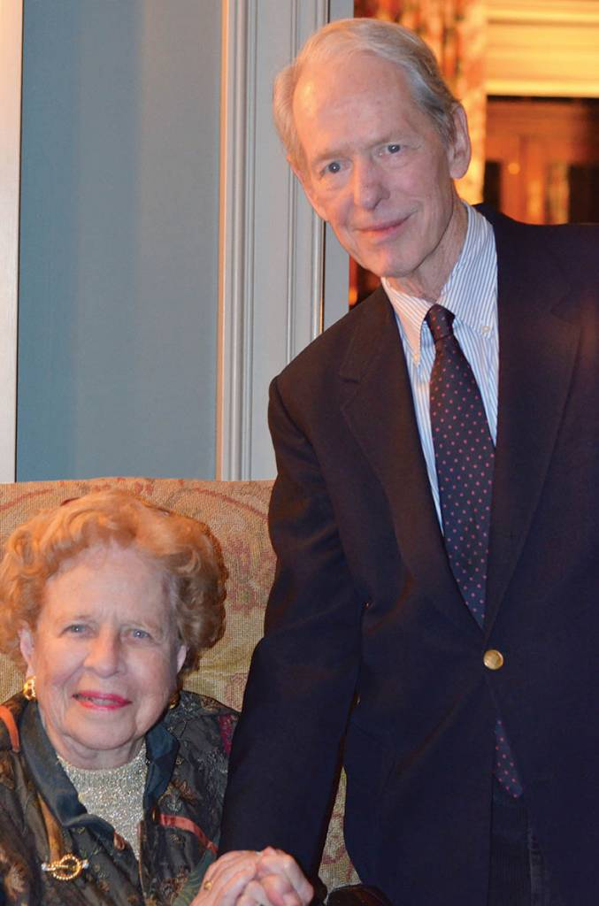 Margaret Ann Robinson and Robert K. Massie – Literary Patrons Party