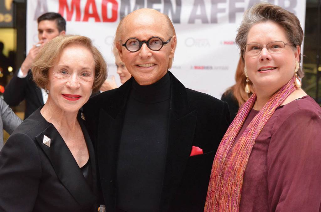 Sue and Earl Swensson, Carol Penterman – Mad Men Party