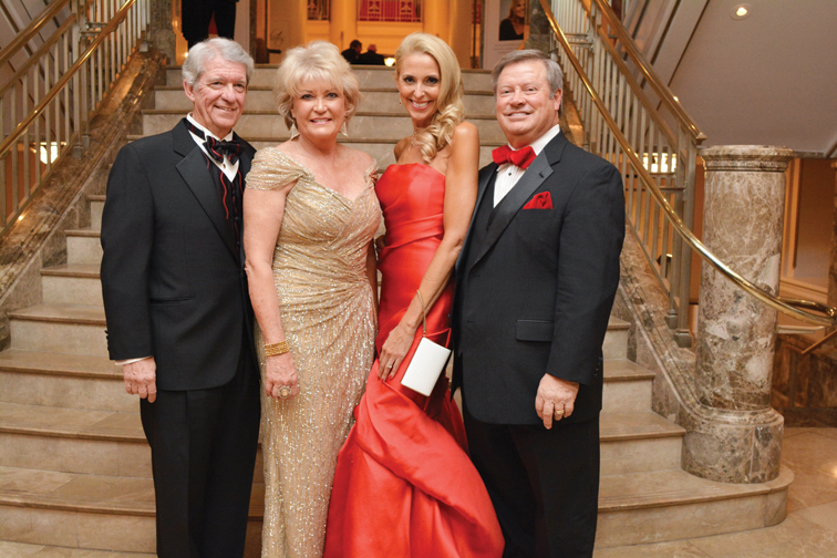 Chairs Dick and Sharalena Miller, Sheila and Nelson Shields –  Heart Gala