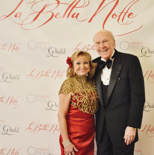 Chairs Morel and Howard Harvey – La Bella Notte