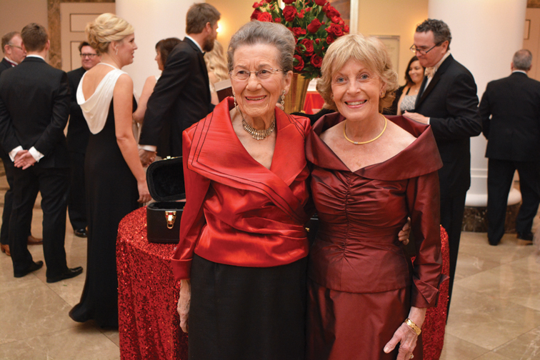 Marion Couch and Judy Simmons – Heart Gala
