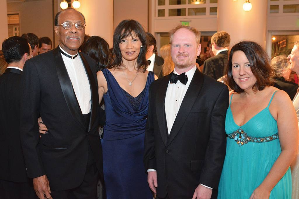 Roland Jones and Susan Short Jones, Douglas and Ashley Henry – Ballet Ball