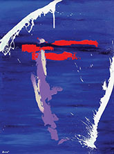 "Steffon Hamulak, Independence Day, 2012, Acrylic on canvas, 48"" x 36"""