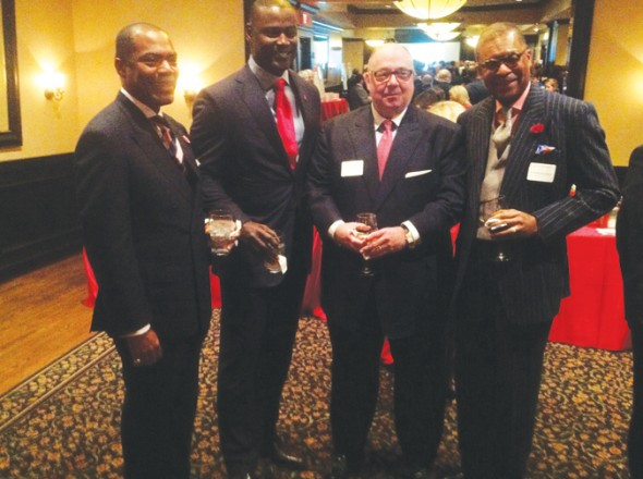 Keith Churchwell, Kevin Carter, Keith Pitts, Andre Churchwell  – Go Red Men's Event