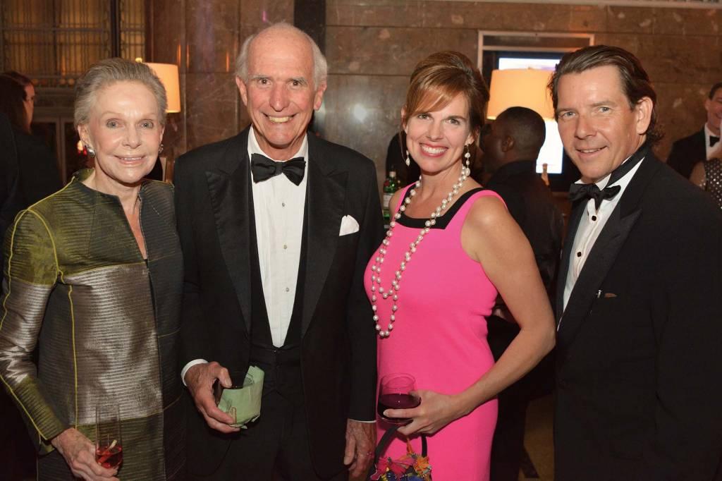 Clare Armistead, Martin Brown Sr., Patti and Brian Smallwood – Frist Gala