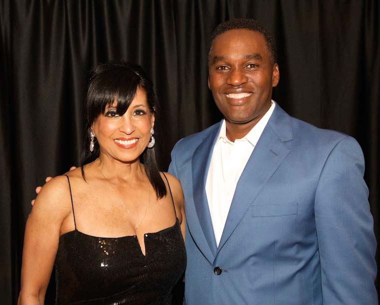 Chairs Vicki Yates and Darrell Freeman – Dancing for Safe Haven