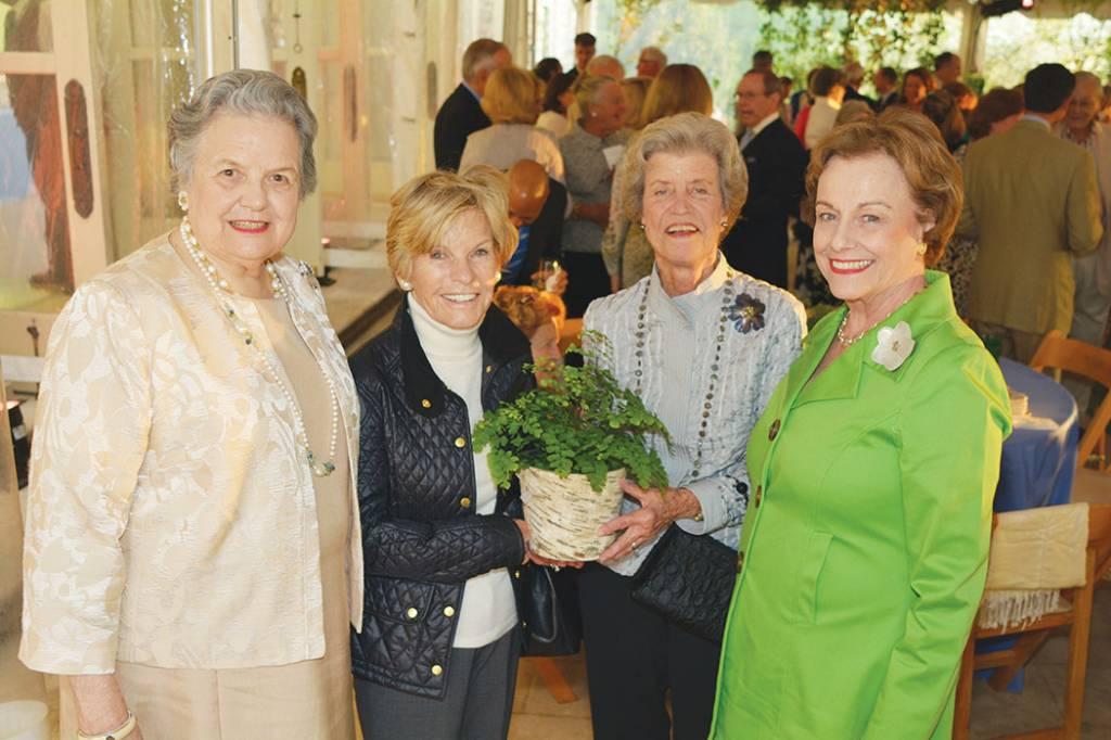 Alice Hooker, Agneta Currey, Frannie Jackson, Carole Nelson – Howe Wild Garden Party