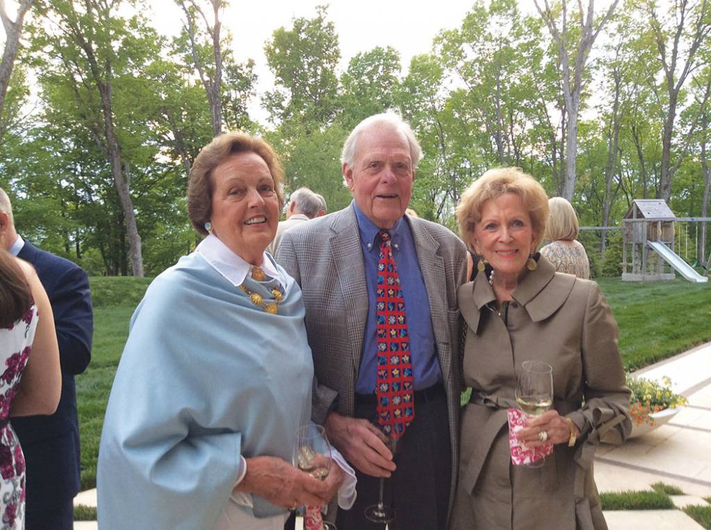 Patricia Hart, Gil Merritt and Martha Ingram – Symphony Fashion Show Patrons Party