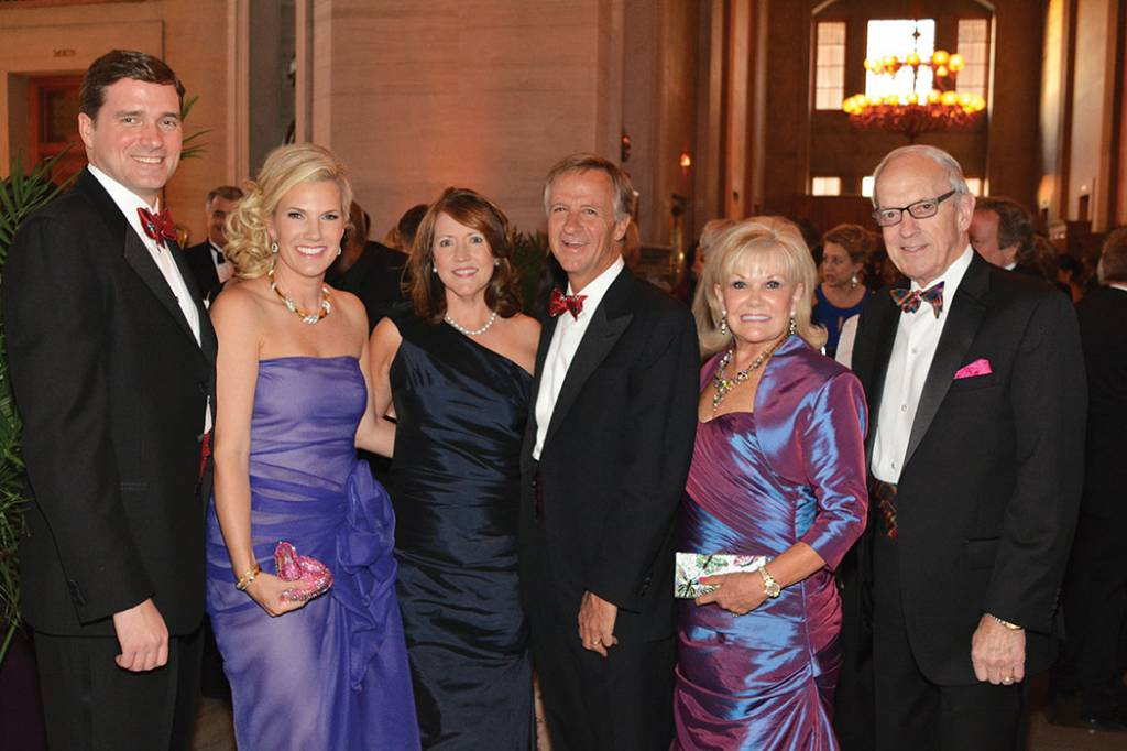 Gala Co-chairs Grant and Suzanne Smothers, Governor and Mrs. Bill Haslam, Co-chairs Linda and Jere Ervin – Tennessee Waltz Gala