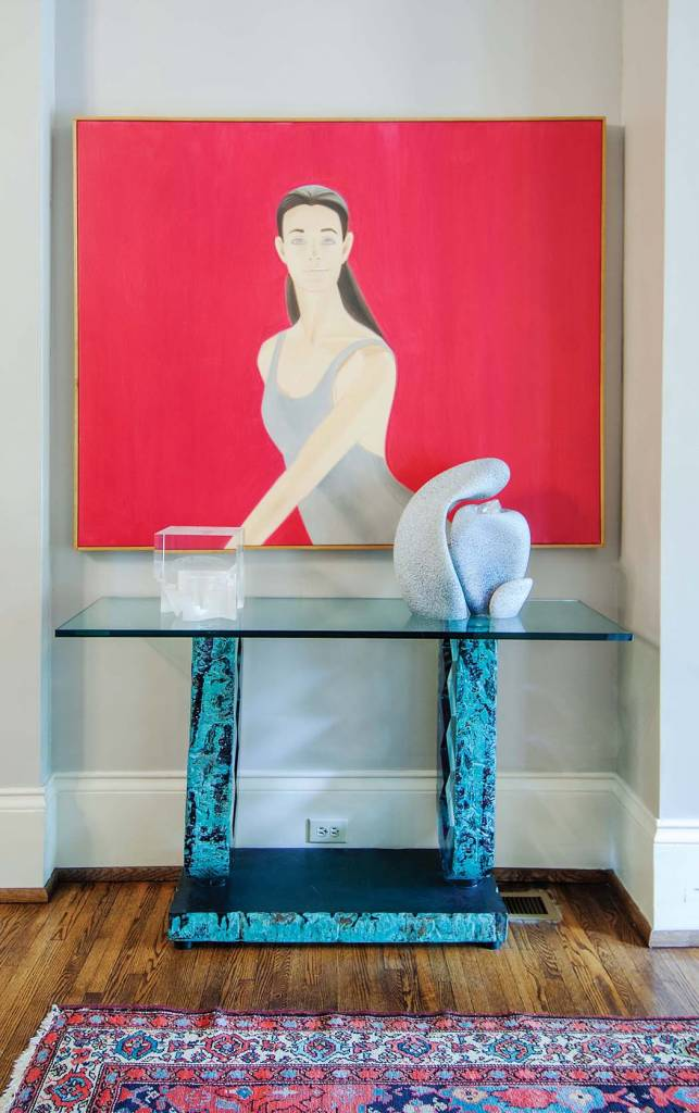 Foyer: Alex Katz, Pat II, Oil on canvas