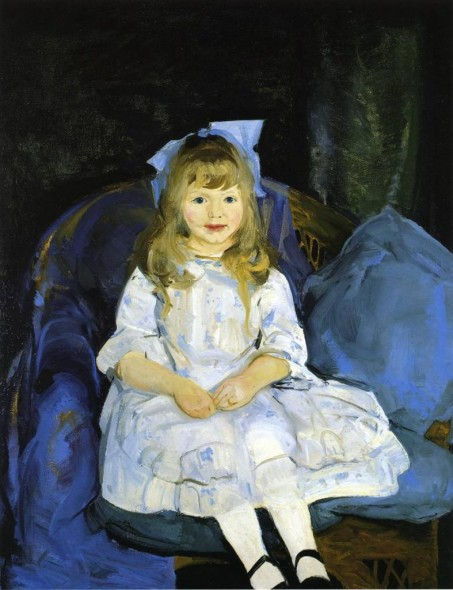 """George Bellow's """"Portrait of Anne."""""""