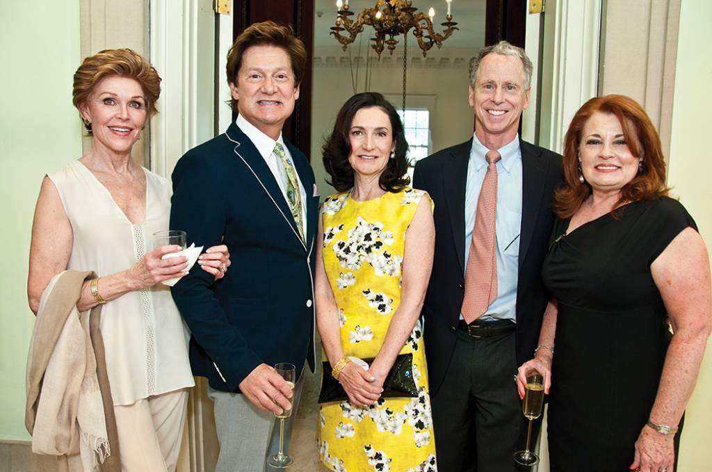 Sandra McDonald, Landy Gardner, Renee and Walker Mathews, Joy Gardner – Haynes Dinner