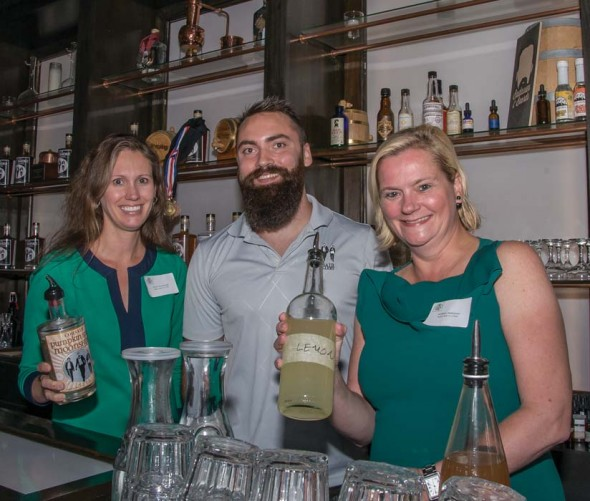 Kerri Cavanaugh, Austin, the bartender and Melissa Mahanes