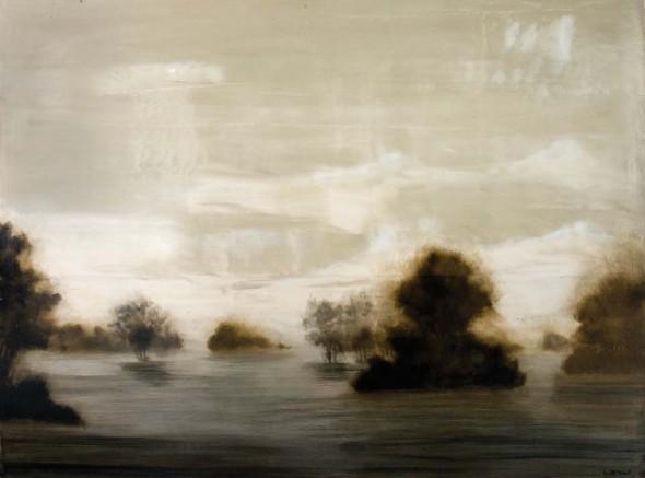 "Ideal Grace, Oil on canvas, 30"" x 40"""