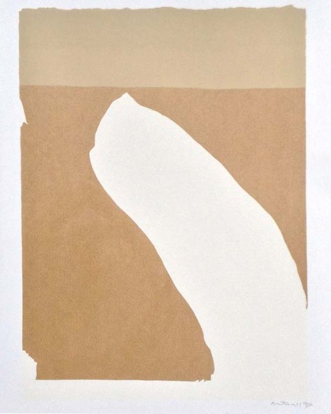 "Robert Motherwell, Flight Portfolio, 1971, Color lithograph, 26"" x 20"""