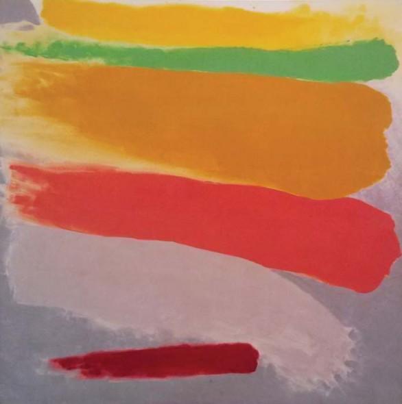 "Friedel Dzubas,Tropic, 1973, Acrylic on canvas, 41"" x 41"""