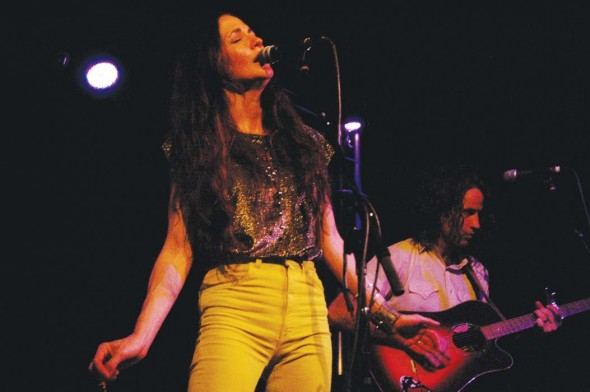 On stage at 3rd and Lindsley