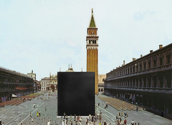 Gregor Schneider, Cube Venice, 2005, Graphic elaboration. copyright Gregor Schneider, VG Bild-Kunst, Bonn 2008