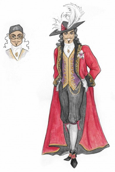 Costume Design- Captain Hook