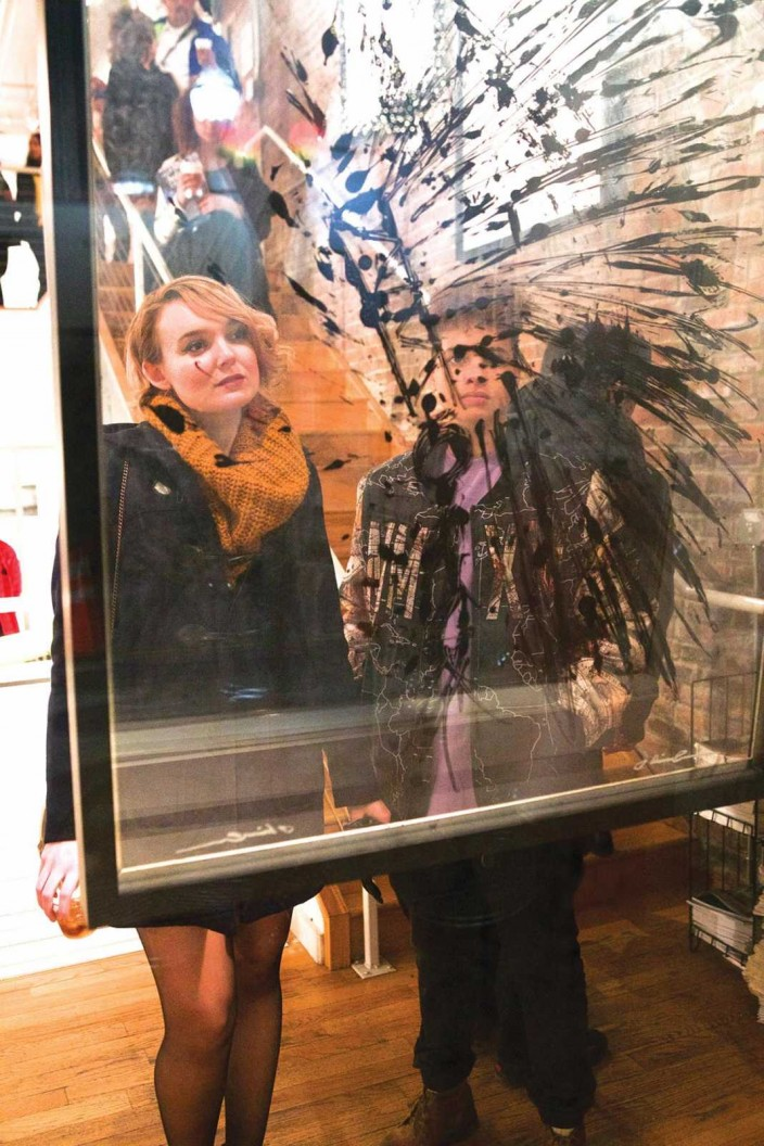 Jessica Shealy and Arielle Myles at The Rymer Gallery
