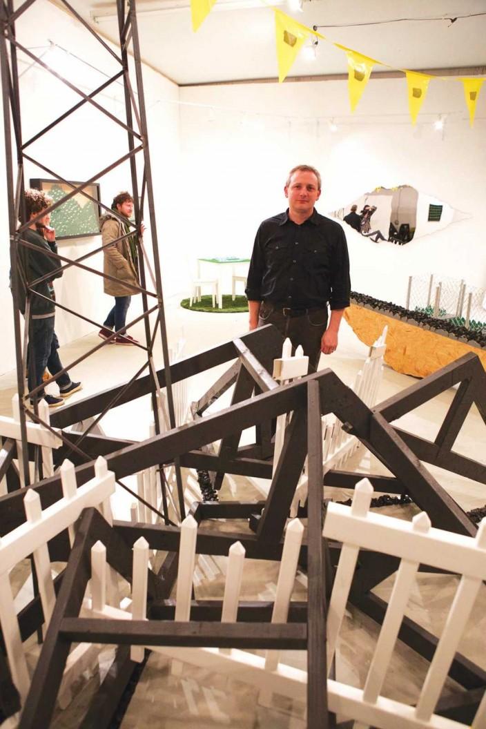 Jason S. Brown at Ground Floor Gallery