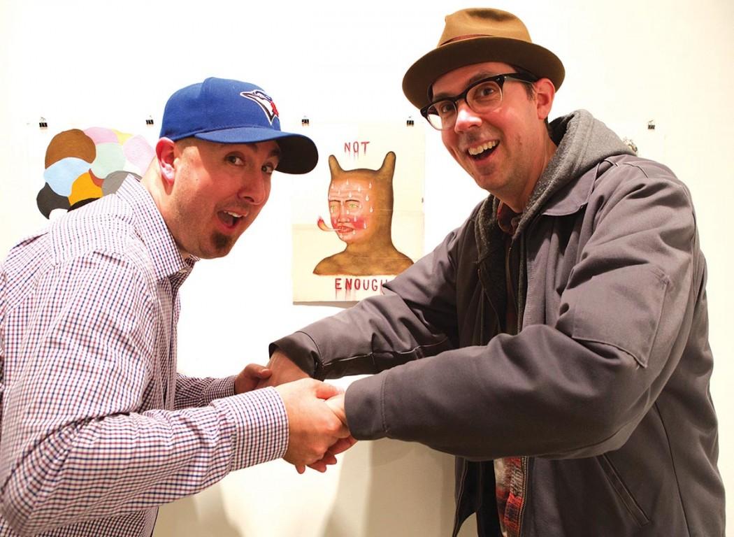 Jason Lascu and Mark Hosford at CG2
