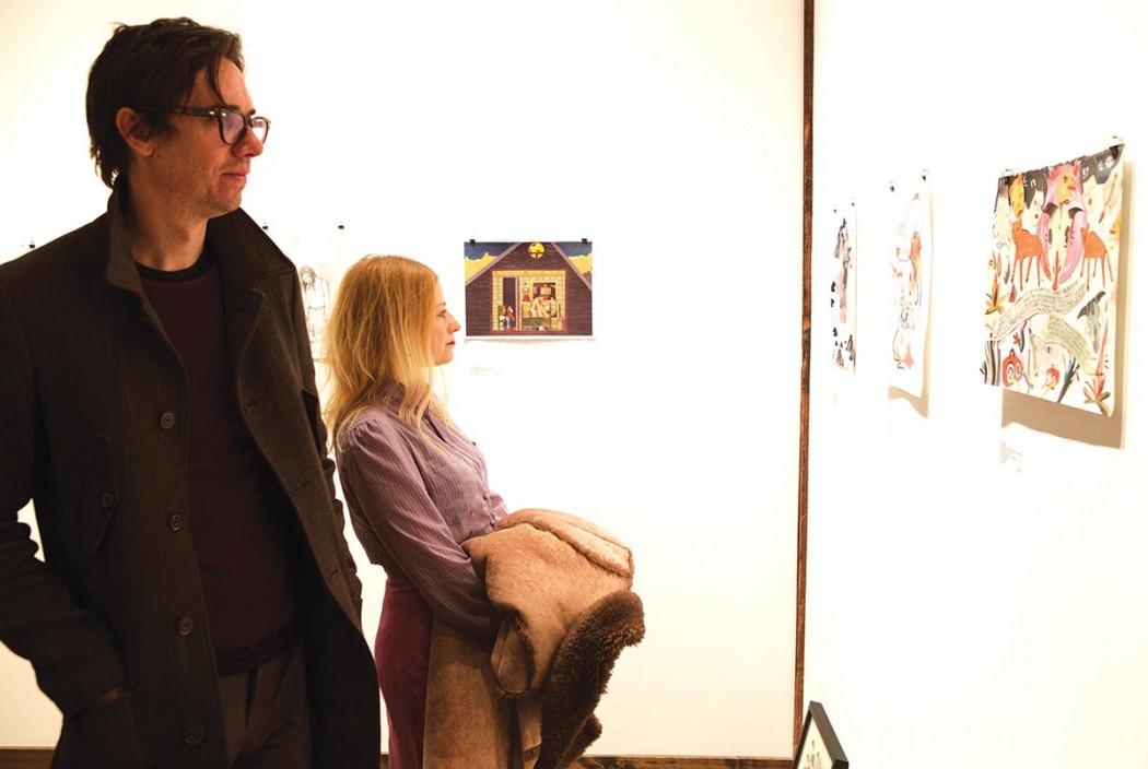 Dan Hoy and Maggie Welles at CG2