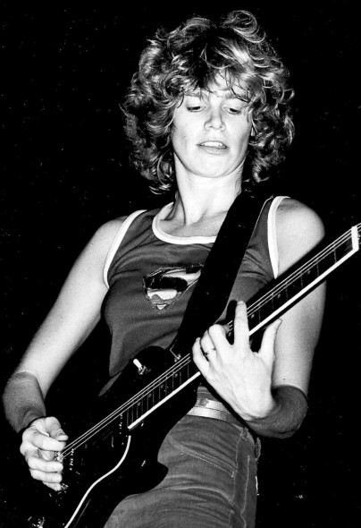 Performing live at the Whiskey A Go-Go in Los Angeles in 1979