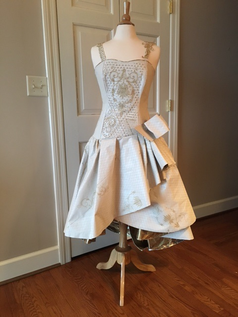Lee Ann Hawkins dress with bow