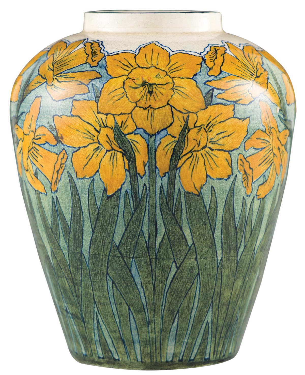 Newcomb_Vase_Daffodil_1897